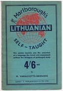 Marlborough's Lithuanian Self-Taught: By the Natural Method with English Phonetic Pronunciation.