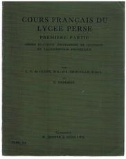 GLEHN, L. C. de, CHOUVILLE, L., OSBORNE, C..