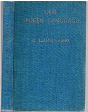 JAMES, A. Lloyd