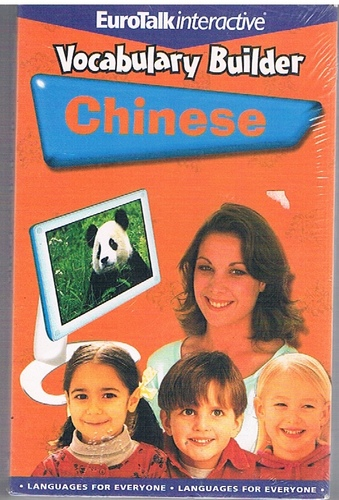 CHINESE  - Vocabulary Builder  Eurotalk interactive  CD-Rom