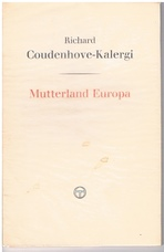 COUDENHOVE-KALERGI, Richard
