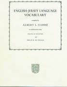 English-Jersey Language Vocabulary.