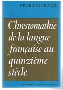 Chrestomathie de la langue française au quinzième siècle