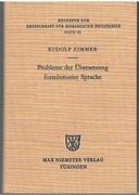 Probleme der Übersetzung formbetonter Sprache. Ein Beitrag zur Übersetzungskritik. Beihefte zur Zeitschrift für romanische Philologie. Band 181.