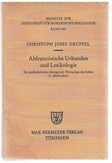 DRÜPPEL, Christoph Josef.