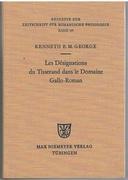 Les désignations du tisserand dans le domaine gallo-romanétude d'un vocabulaire artisanal et technologique Beihefte zur Zeitschrift für romanische Philologie. Band 163.