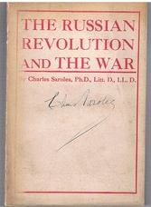 The Russian Revolution and the War. Second Edition, re-written and