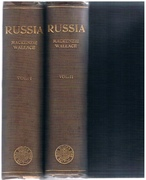 Russia: In two volumes. New, enlarged edition: Revised, re- set, and in great part re-written. With portrait of the author and map showing the density of population.