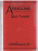 Afrikaans Self-Taught by the Natural Method with Phonetic Pronunciation.