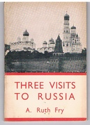 Three Visits to Russia 1922 - 25.