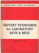 Dietary Standards for Laboratory Rats and Mice: Nutritional and Microbiological Recommendations Laboratory Animal Handbooks 2.