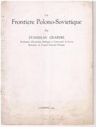 La Frontière Polono-Soviétique.