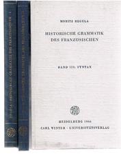Historische Grammatik des Französischen:  Band 1 Lautlehre, Band 2