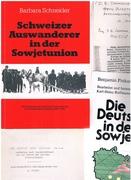 Schweizer Auswanderer in der Sowjetunion. Die Erlebnisse der Schweizer Kommunarden im revolutionären Russland (1924-1930).