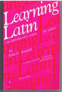 Learning Latin An Introductory Course for Adults
