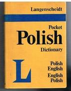 Langenscheidt's Pocket Polish Dictionary. English - Polish, Polish - English.