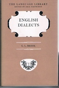 English Dialects. The Language Library. Edited by Eric Partridge.