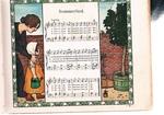 Unser Liederbuch. Die beliebtesten Kinderlieder. 2ter Band. 10. Tausend. ausgewählt von Friederike Merck, mit Bildern von Ludwig von Zumbusch, für Kinderstimmen gesetzt von Fritz Volbach.