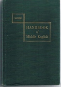 A Handbook of Middle English.