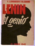 Lenin el genio.