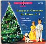 Rondes et Chansons de France no. 5 Livres disque Philips