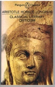Classical Literary Criticism Translated with an introduction by T.S. Dorsch. Penguin Classics.