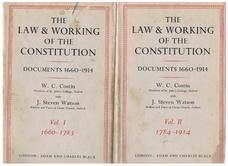 COSTIN, W. C. and WATSON, J Steven