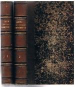 Etymologisches Wörterbuch der romanischen Sprachen. Dritte verbesserte und vermehrte Ausgabe. Erster Theil. Zweite Theil: Wörter aus einzelnen Gebieten.