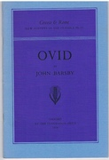 Ovid New Surveys in the Classics.