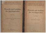 Phonetik und lautlehre des Inarilappischen. I: Beobachtungsphonetik und deskriptive lautlehre. II: Instrumentale messungen. Erste lieferung. Suomalais-ugrilaisen Seuran toimituksia.