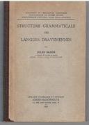 Structure grammaticale des langues dravidiennes. Publications du Musée Guimet Bibliothèque d'Études.