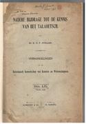 Nadere Bijdrage tot de Kennis van het Talaoetsch (Talaud) Bataviaasch Genootschap van Kunsten en Wetenschappen. Vierde stuk