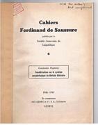 Considérations sur le système morphologique du tibétain littéraire. Cahiers Ferdinand de Saussure publiés par la Société Genevoise de Linguistique.