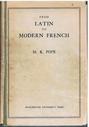 From Latin to Modern French with Especial Consideration of Anglo-Norman Phonology and Morphology. o.6.