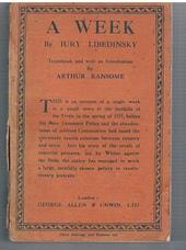 LIBEDINSKY, Iury (Arthur Ransome)