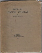 Notes on Joseph Conrad.