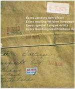 Extra Zending Schrijftaal Extra Mailing Written Language Envoi spécial Langue écrite Extra Sendung Geschriebene Sprache. Henry Miller. [Catalogue].