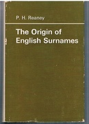 The Origin of English Surnames