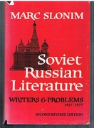 Soviet Russian Literature. Writers and Problems 1917-1977.