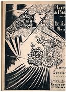 El Amor Brujo (L'Amour Sorcier) (Love the Magician).  Ballet en un Acte de G Martinez Sierra. Musique de Manuel de Falla.  Partition de Piano et Chant. Couverture et Vignette de Natalia Gontcharova.