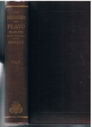 The Dialogues of Plato. Vol. V. (of five) Translated into English with analyses and introductions.  Second Edition revised and corrected throughout, with additions and an index of subjects and proper names.