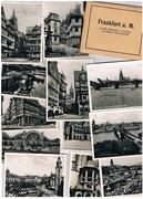 Frankfurt a. M 12 der schönsten Ansichten in echter Photographie.