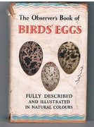 The Observer's Book of Birds' Eggs. Describing more than One Hundred and Eighty Eggs with 154 illustrations in full natural colour and 26 in outline by H D Swain.  With a Foreword by P E Brown. The Observer's Pocket Series (18).