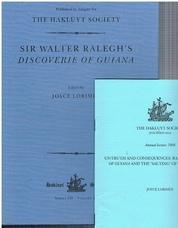 LORIMER, Joyce (Ed.) (Walter Ralegh)