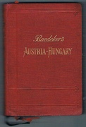Austria-Hungary including Dalmatia and Bosnia.  Handbook for Travellers.