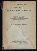 An Elementary Historical New English Grammar.
