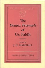 The Donatz Proensals of Uc Faidit.