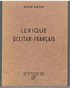Lexique Occitan - Français.