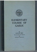 Elementary Course of Gaelic.  Re-arranged and Enlarged by Norman MacCleod.