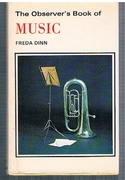 The Observer's Music. Sections on: Sound; musical instruments; concert programmes; composers.  With numerous illustrations many of which are in colour. Revised edition. Seventh reprint. The Observer's Pocket Series (16).